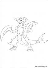 Coloriage pokemon choisis tes coloriages pokemon sur - Mega carchacrok ...