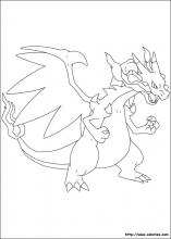 Coloriage pokemon choisis tes coloriages pokemon sur coloriez com - Mega dracaufeu x et y ...