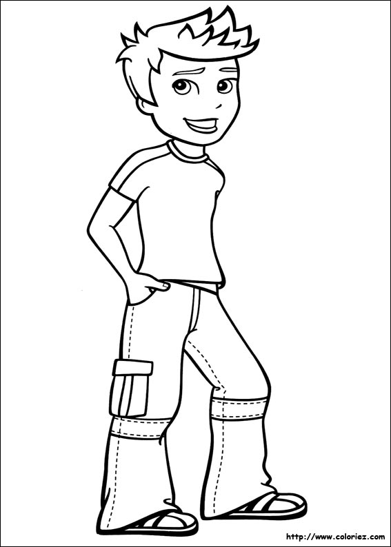 Coloriage rick - Coloriage polly pocket ...