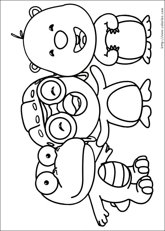 Harry Coloring Pororo Coloring Pages Pororo Coloring Pages
