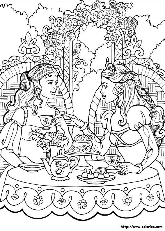 Index Of Images Coloriage Princesse Leonora