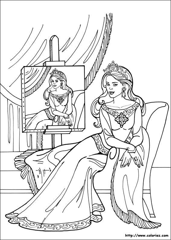 le portrait de princesse lonora