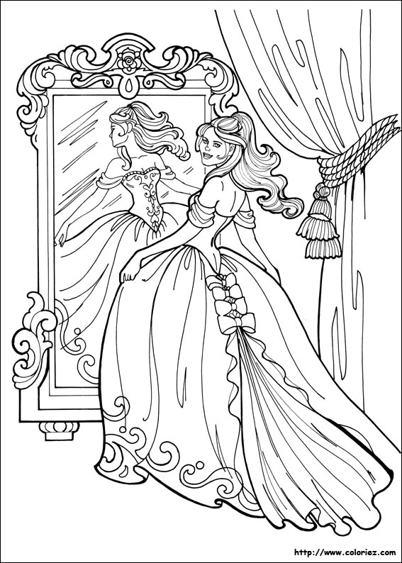 Coloriage De Princesse Anastasia