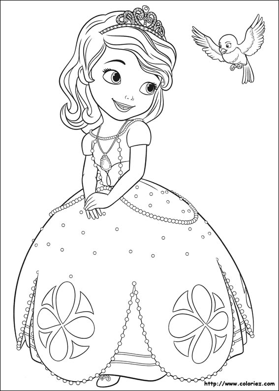 Coloriage Princesse Sofia Choisis Tes Coloriages Princesse Sofia