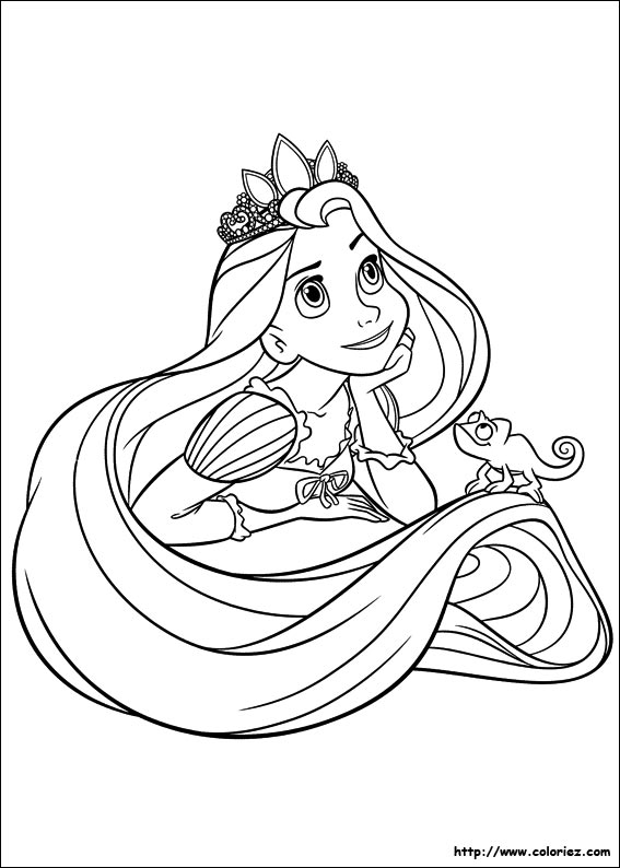 Coloriages princesses walt disney a imprimer - Coloriage princesses disney a imprimer ...