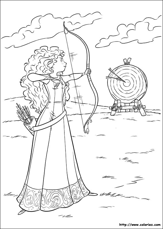 meridas face coloring pages - photo#23