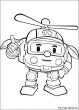Coloriage robocar poli choisis tes coloriages robocar poli sur coloriez com - Imprimer robocar poli ...