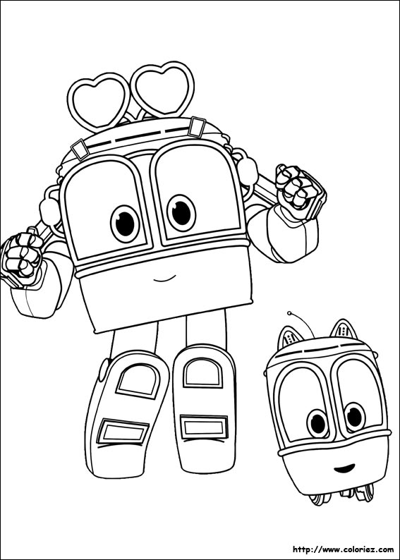 Index Of Images Coloriage Robot Trains