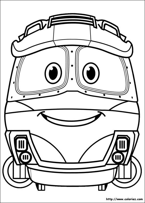 Dunia Robot Robot Trains Duke