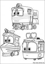 Selly, duck et Alf trains