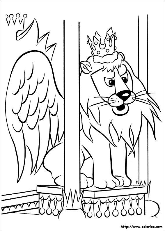 Coloriage coloriage de rudolph le roi - Dessin de renne au nez rouge ...