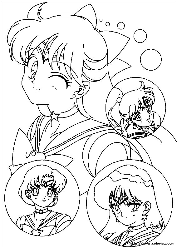 Index of images coloriage sailor moon - Coloriage sailor moon ...