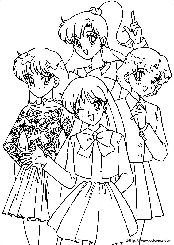 Index Of Images Coloriage Sailor Moon