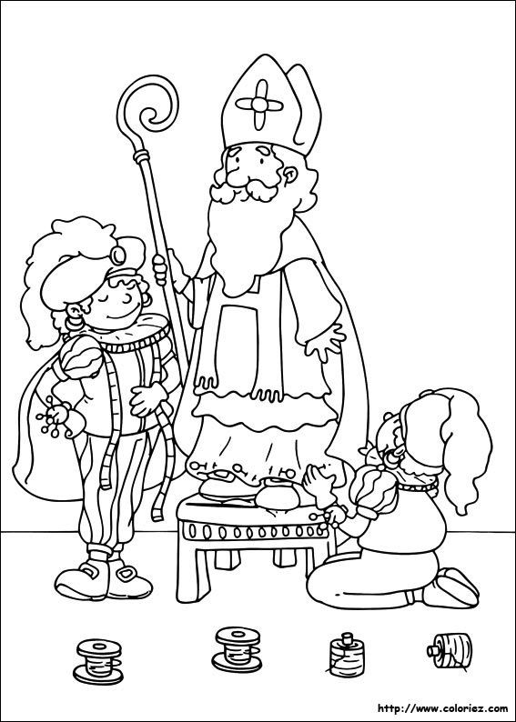 Index Of Images Coloriage Saint Nicolas