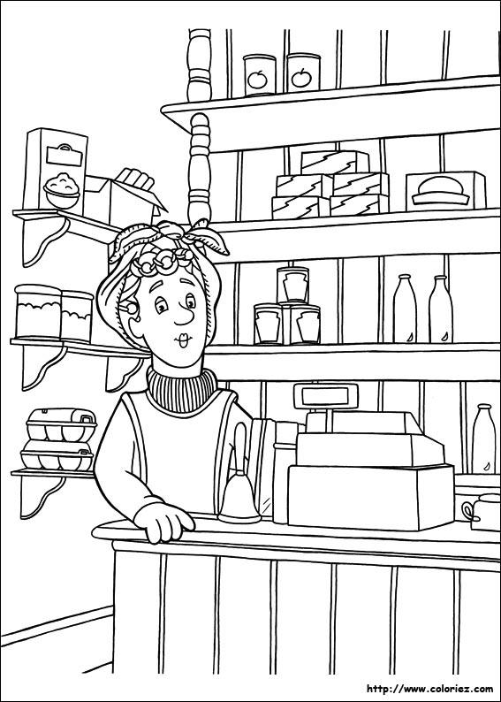 Dilys s apprete à accueillir ses clients dans sa boutique