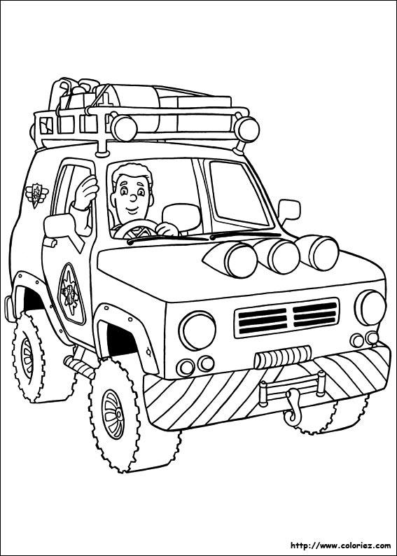 Coloriage coloriage de tom le sauveteur en montagne - Pompier coloriage ...