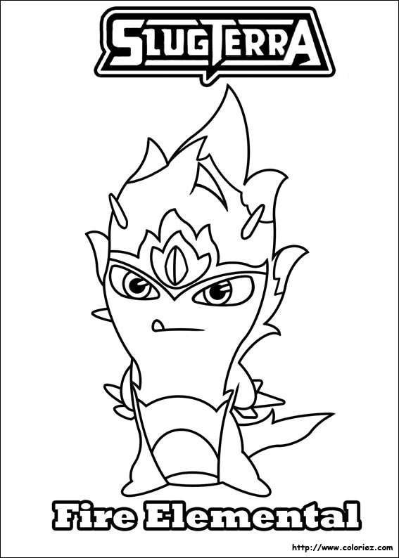 slugterra coloring pages transformation tuesday - photo#4