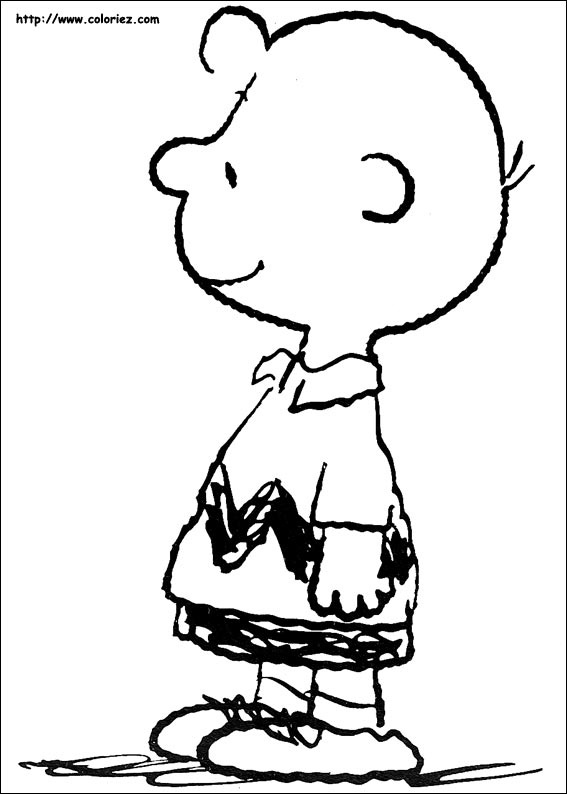 Coloriage charlie brown - Snoopy dessin ...