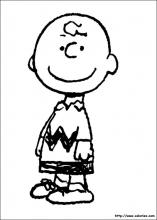 Charlie Brown sourit