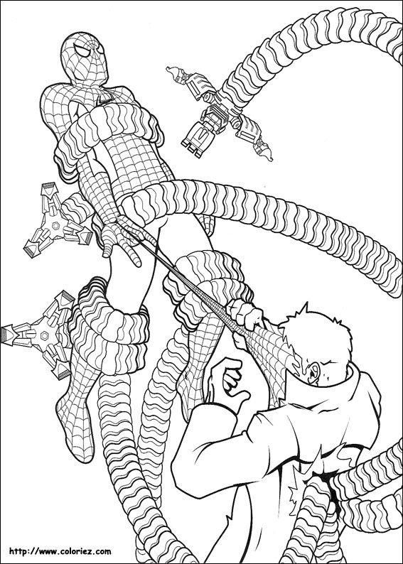 Index Of Images Coloriage Spiderman