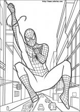 les coloriages de spiderman