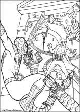 Coloriage spiderman choisis tes coloriages spiderman sur for Spiderman disegni da colorare gratis