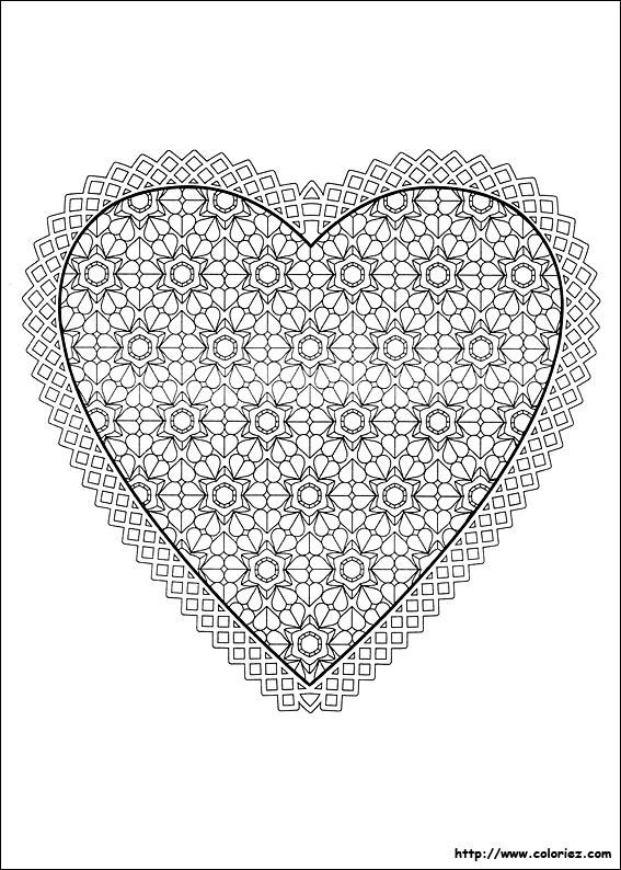 Mandala compliquer imprimer - Coeur a imprimer gratuitement ...