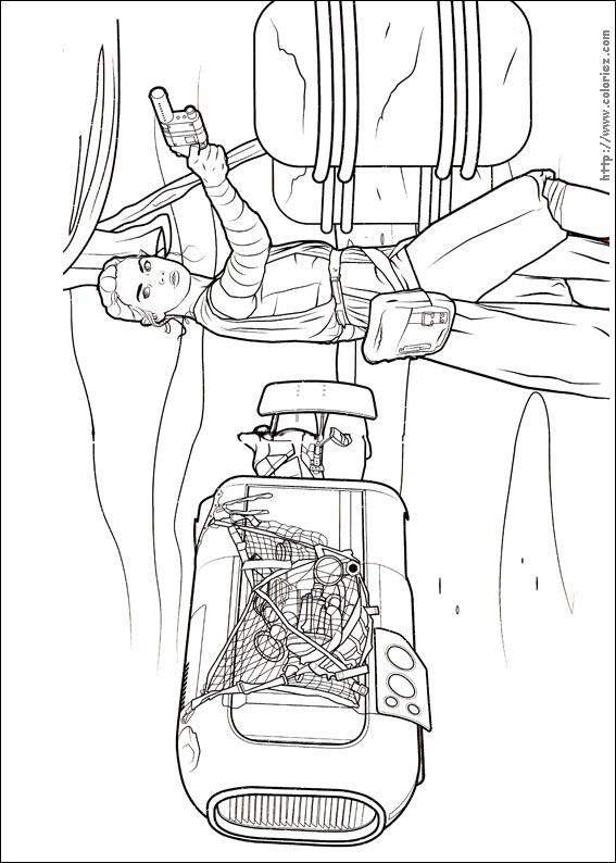Coloriage rey - Dessin a imprimer star wars ...