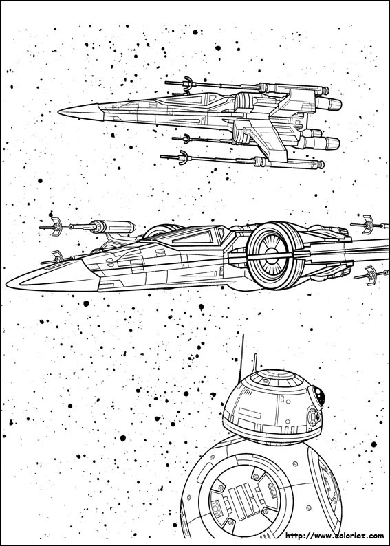 Coloriage v hicules interstellaires - Images star wars a imprimer ...