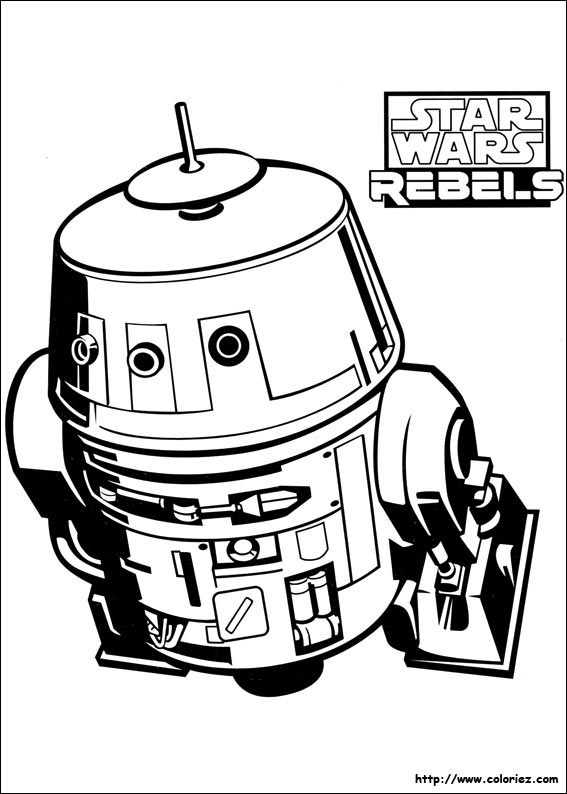 Coloriage chopper - Stars wars coloriage ...