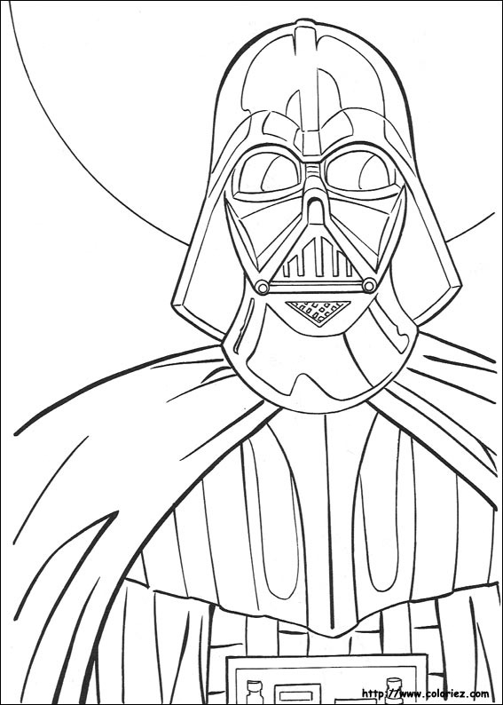 Coloriage dark vador - Dessin lego star wars ...