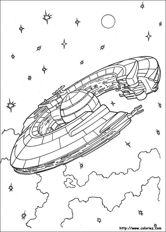 Star wars vaisseau de la fdération