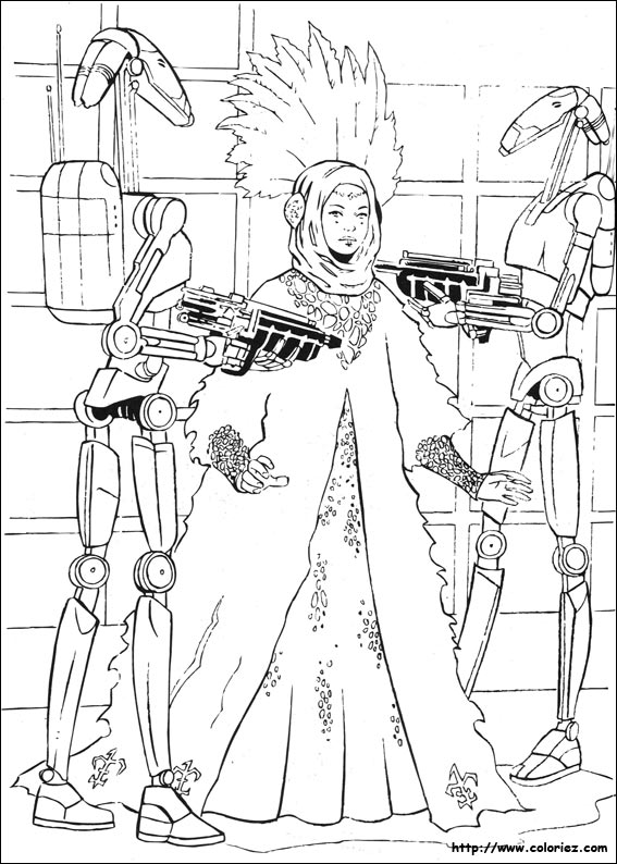 Star Wars Clone Wars Coloring Pages Padme, LEGO Star Wars: The ...