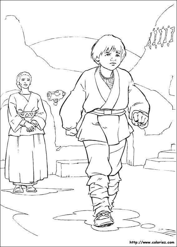 Anakin se résoud à quitter sa mère