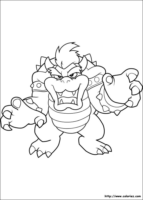 Coloriage Super Mario Bros Choisis Tes Coloriages Super