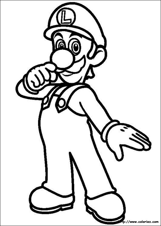 Coloriage Gratuit Mario.Coloriage Super Mario Bros Choisis Tes Coloriages Super Mario Bros