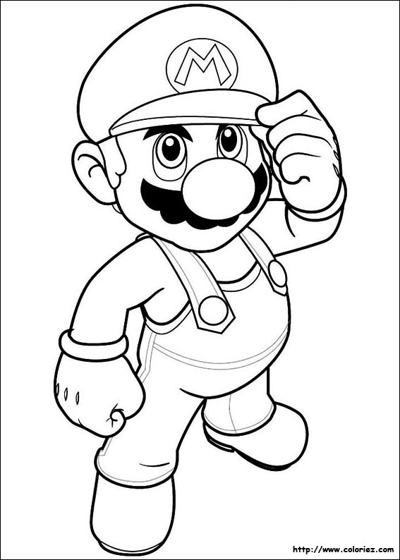 Coloriage Super Mario Bros Choisis Tes Coloriages Super Mario Bros