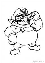 Coloriage Waluigi.Index Of Images Coloriage Super Mario Miniature