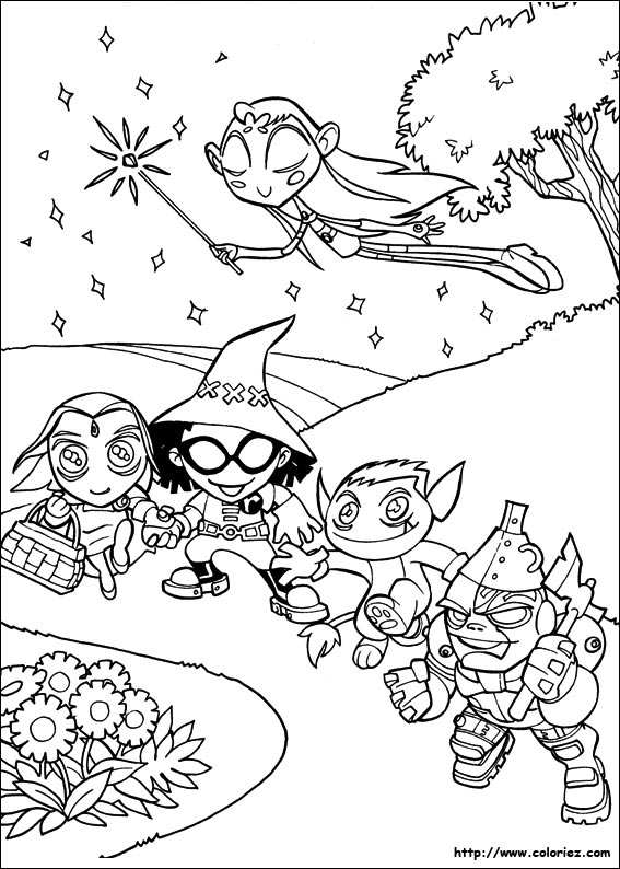 Index Of Images Coloriage Teen Titans
