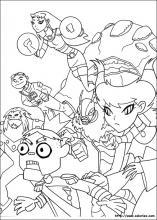 Coloriage Teen Titans, choisis tes coloriages Teen Titans ...