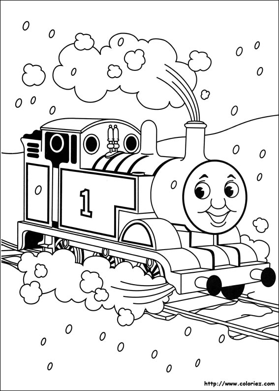 Coloriage thomas le train my blog - Thomas le petit train coloriage ...