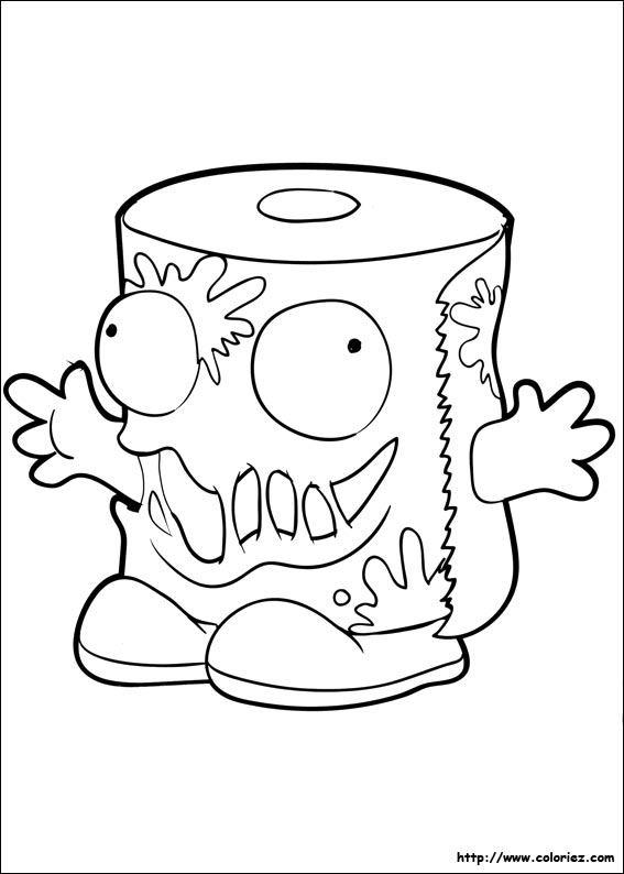 garbage coloring pages to print - photo #50