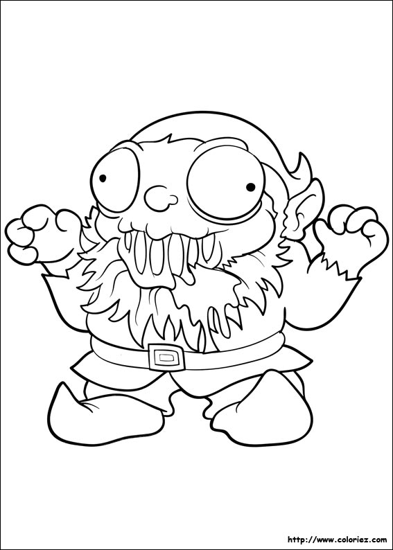 coloring pages trash packs - photo#19