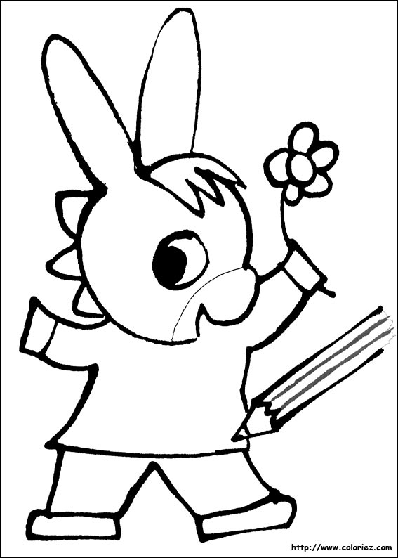Coloriage dessin de trotro - L ane trotro gratuit ...