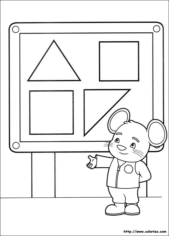 Coloriage le garde souris - Jeux de umizoomi ...