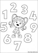 Index Of Images Coloriage Umizoomi Miniature