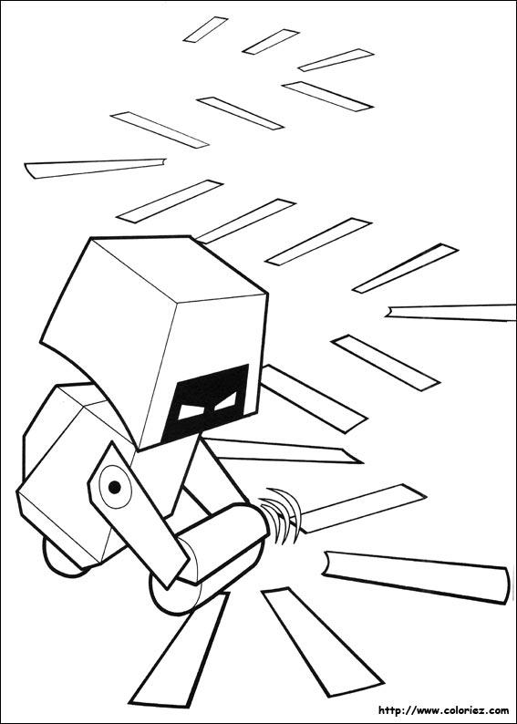 Coloriage m o le robot - Coloriage wall e ...