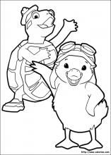 Coloriage Ming Ming et Tuck