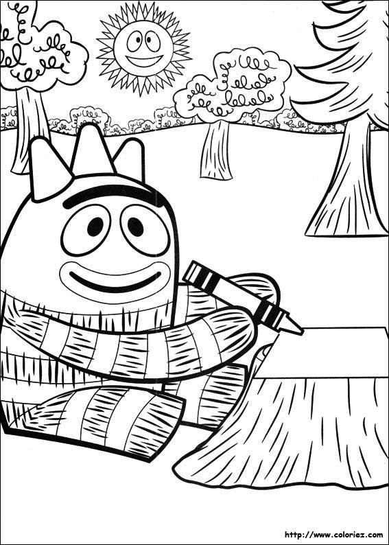 Coloriage coloriage de brobee qui colorie for Brobee coloring page