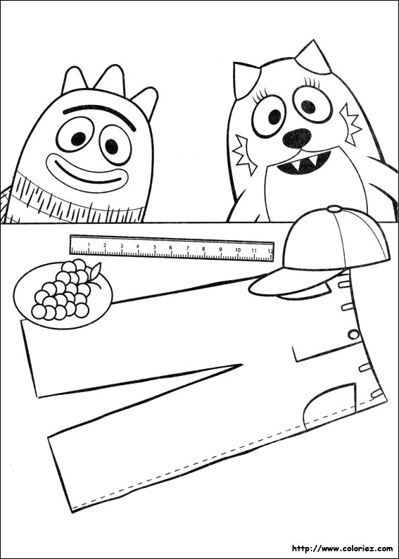 Coloriage coloriage de toodee et brobee jouent for Brobee coloring page